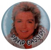 David Cassidy - 'Blue' Button Badge
